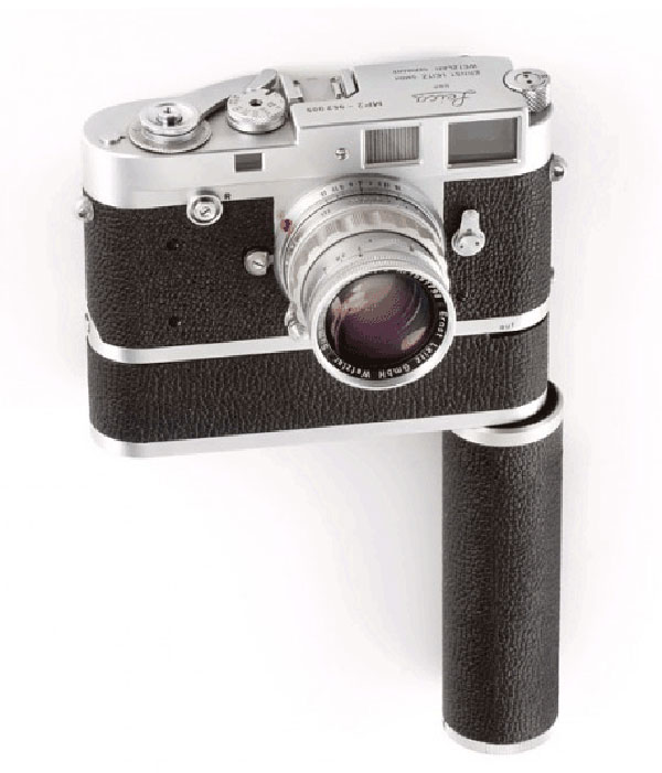 A Chrome Leica MP2 + Motor