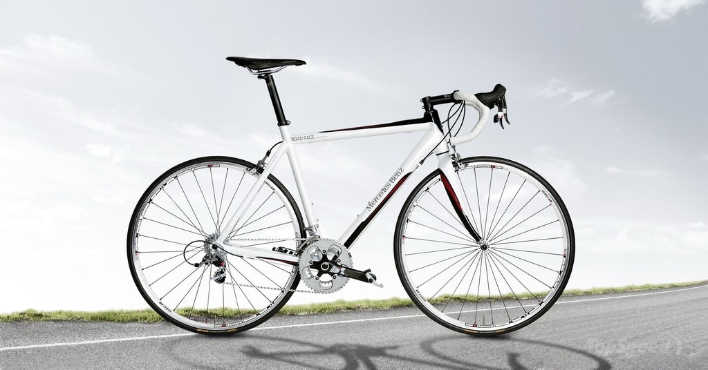 Mercedes Benz Releases Bicycle Line