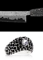 World's Most Sharpest Nesmuk Diamond-Studded Kitchen Knife