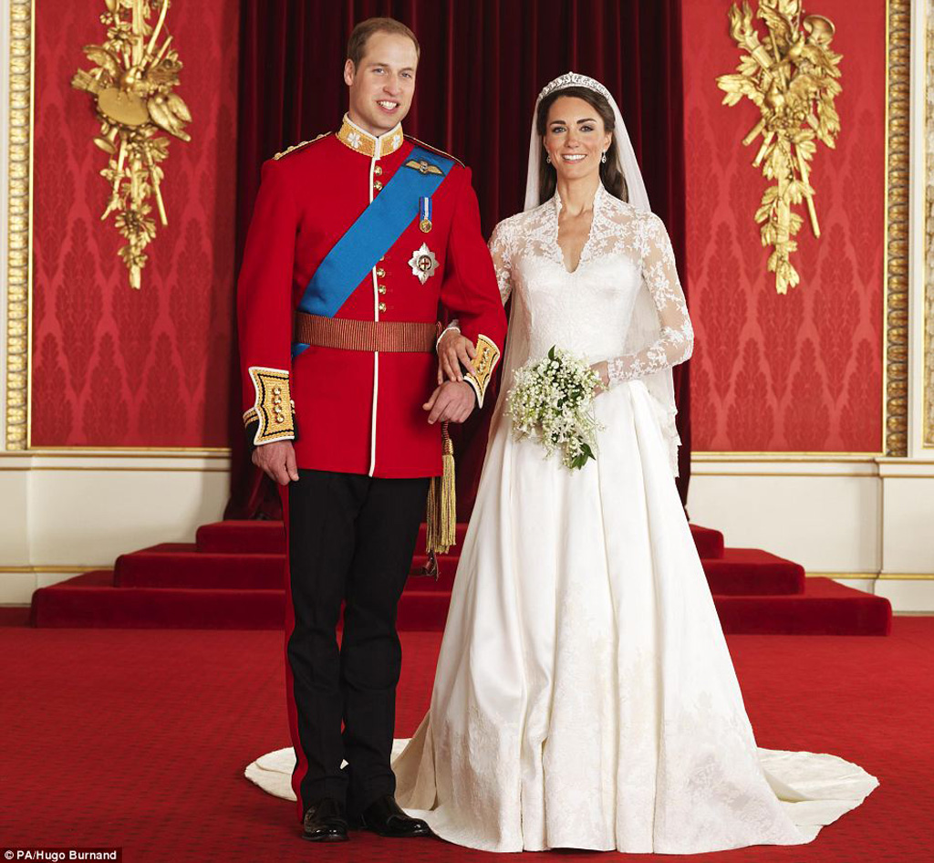 Royal Couple, Prince William and Kate Middleton