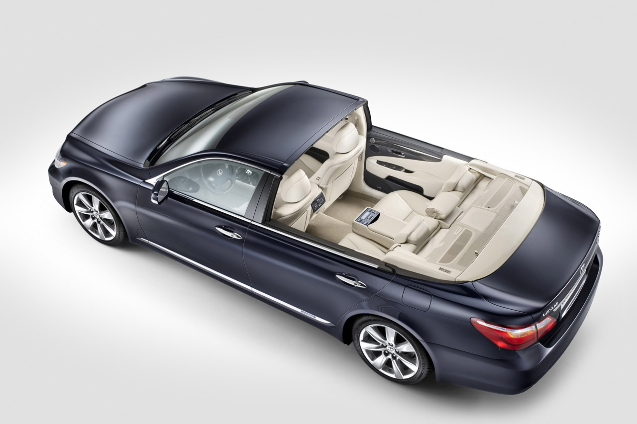 Lexus LS600h Landaulet Built Specially For Upcoming Royal ...