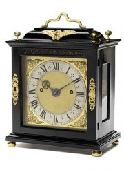 English Ebony Bracket Clock Sold For Over $1 Million At Bonhams