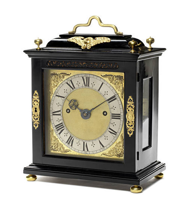 17th century Roman striking table clock by Joseph Knibb