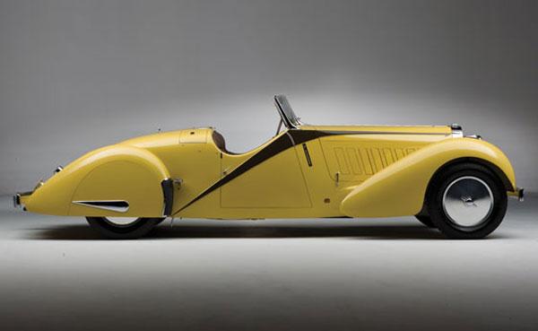 1935 Bugatti Type 57 Roadster by Worblaufen