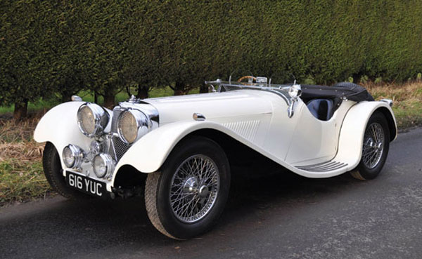 1937 Jaguar SS 100 2½ Litre Roadster