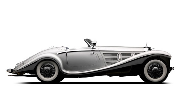 A 1937 Mercedes-Benz 540K Special Roadster by Sindelfingen to be Sold by RM Auctions in Monterey