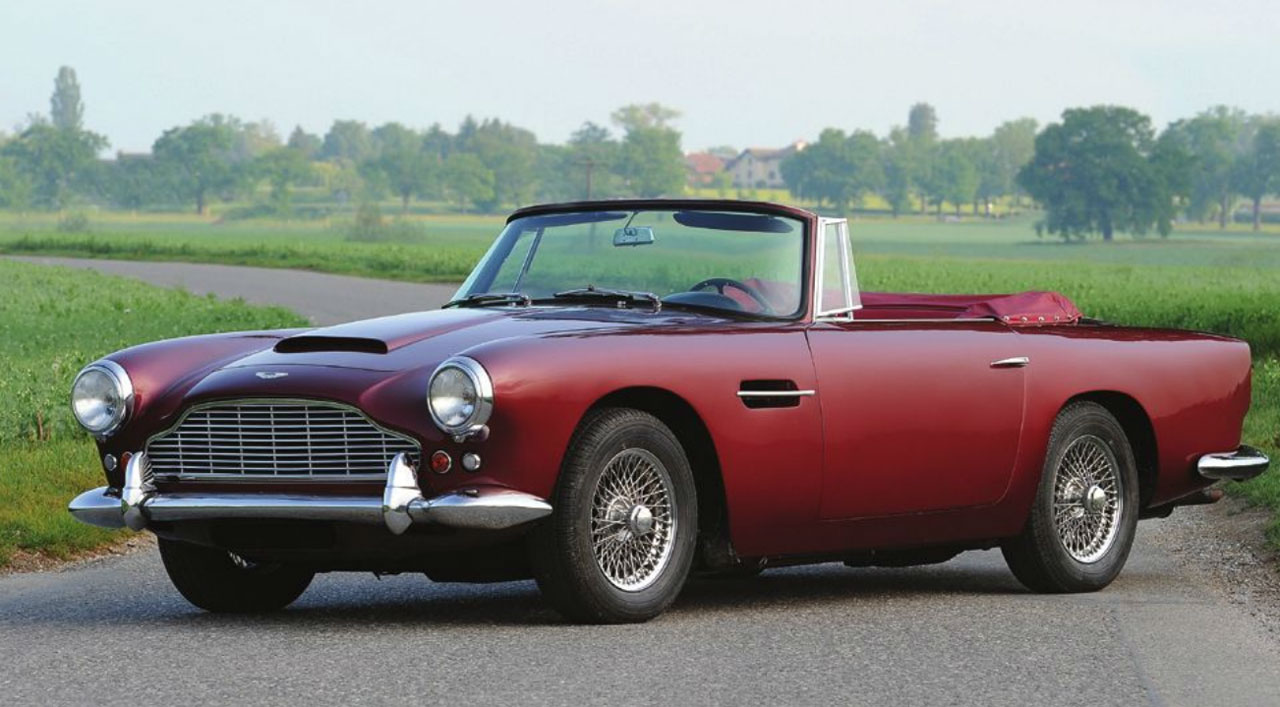 1961 Aston Martin DB4 Vantage Convertible Featured at Salon Privé