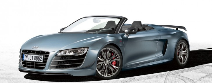 2012 Audi R8 GT Spyder Officially Announced