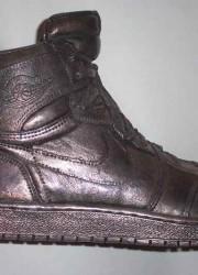 Michael Jordan's Air 1 Sterling Silver Shoe For $100,000 on eBay