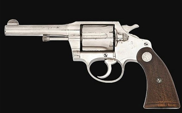 Al Capone's Colt .38