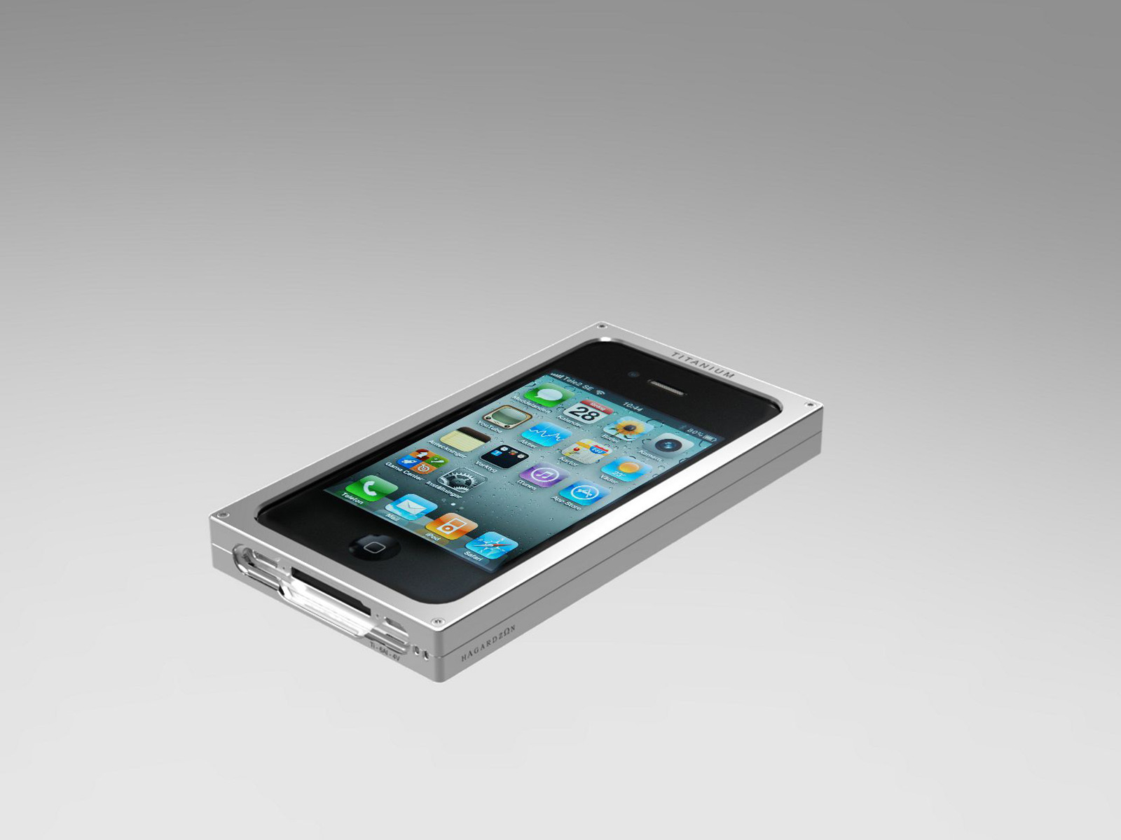 Exclusive New iPhone Titanium Cases from Hagardzo