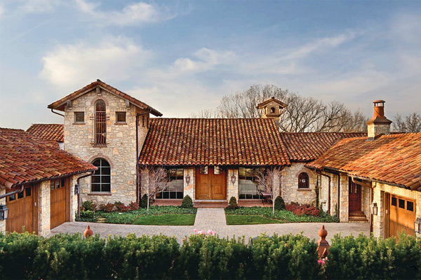 Tuscan style home in leawood for sale at 4 million for Tuscany houses