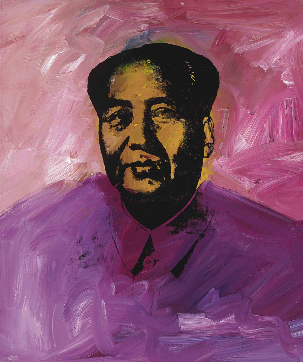 Andy Warhol's Mao