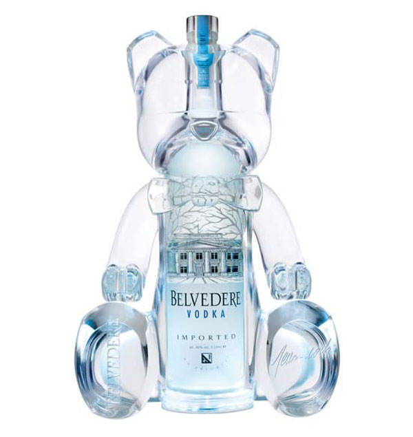 Limited Edition By Belveder Vodka - Belver Bears