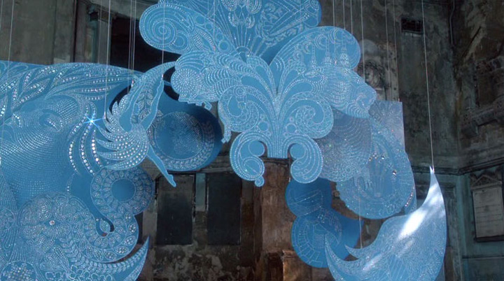 Bombay Sapphire's Imagination Installation artwork
