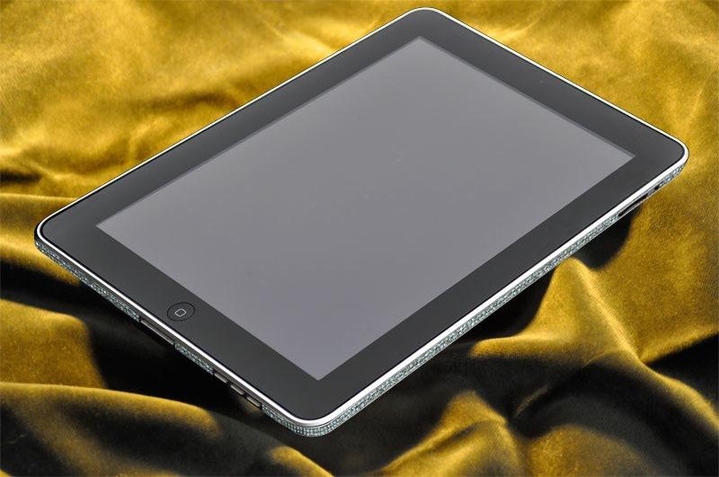Diamond-encrusted iPad from Camael
