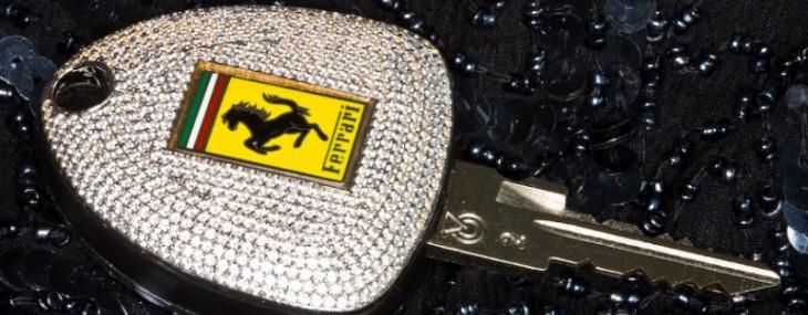 Ferrari Car Key Encrusted With 1,160 Diamonds