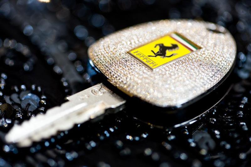 Camael's Bespoke Ferarri Car Key