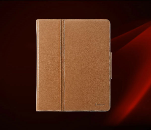 Cartier Les Must Collection of iPad Cases