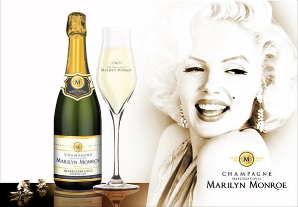 Champagne Marilyn Monroe Premier Cru Brut