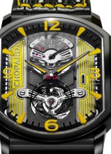 Chopard L.U.C Engine One Tourbillon in Black and Yellow for Only Watch 2011 Auction