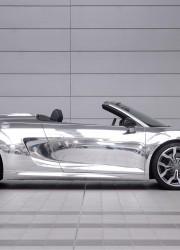 Chrome Audi R8 Spyder Auctioned For Elton John AIDS Foundation