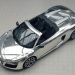 Chrome Audi R8 Spyder Auctioned For Elton John AIDS Foundation