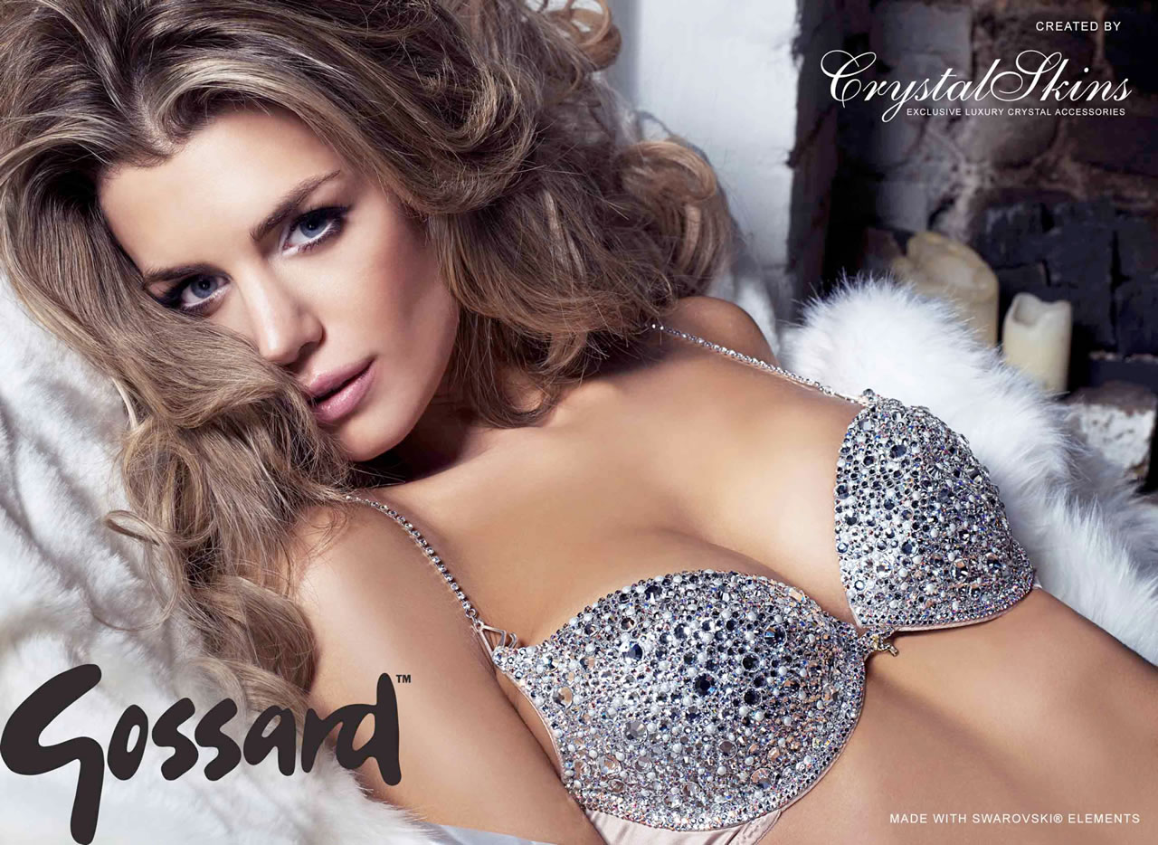 CrystalSkins and Gossard Crystal Embellished Bra