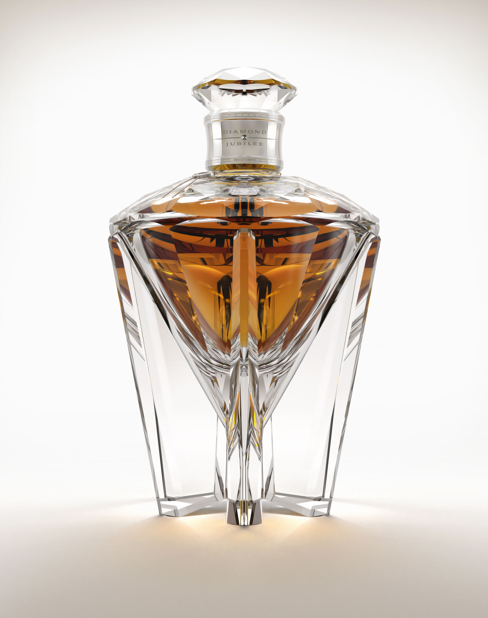 Diamond Jubilee blended Scotch Whisky by John Walker & Sons