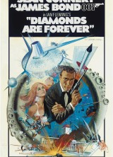 The Original Diamonds Are Forever Movie Poster Fetches  $129,574