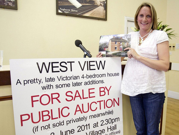 Emma Appleby win the auction for the former home of the Duchess of Cambridge, Kate Middleton