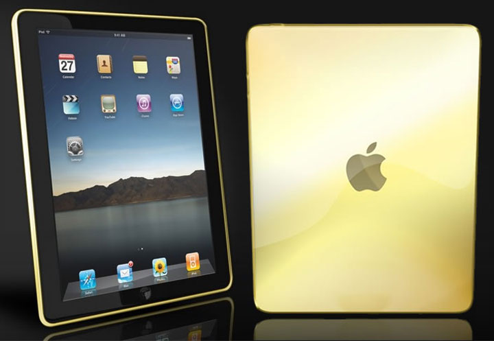 Camaél Solid Gold iPad costs more than a Bentley