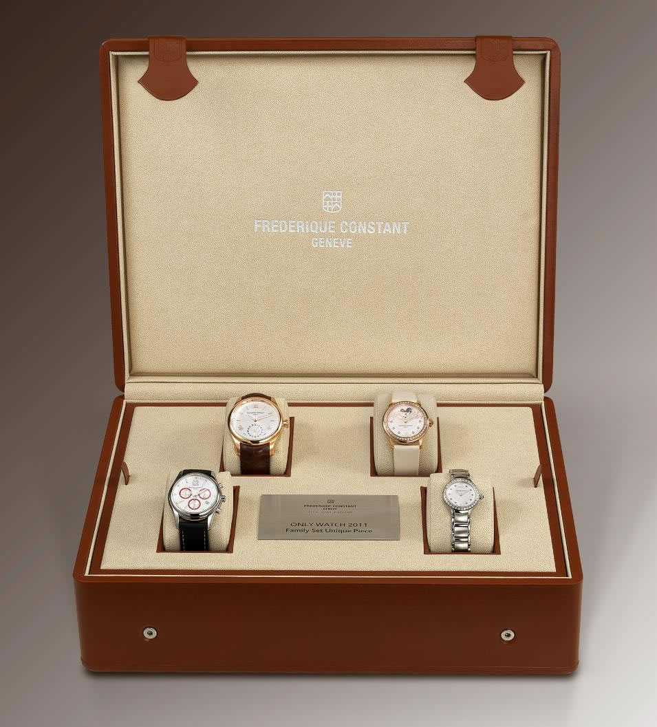 Frederique Constant Family Set for Only Watch 2011 Charity Auction