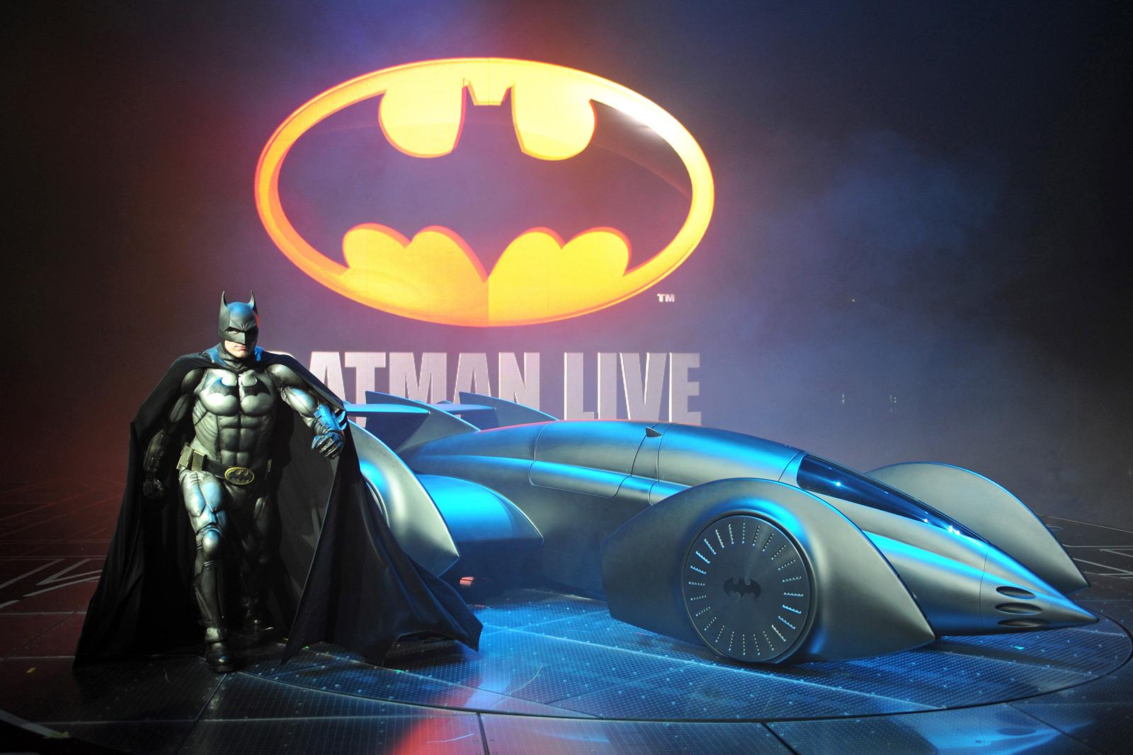 Gordon Murray's Formula One-style Batmobile