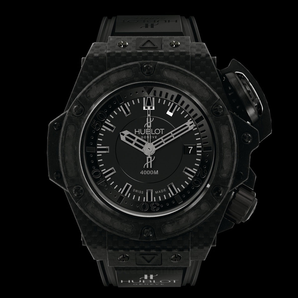 Hublot King Power Oceanographic 4000 Carbon Fiber