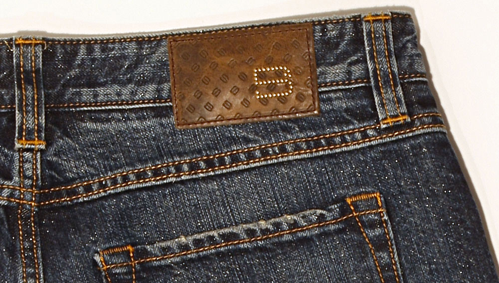 Hugo Boss' Limited Edition Real Gold Denim Jeans