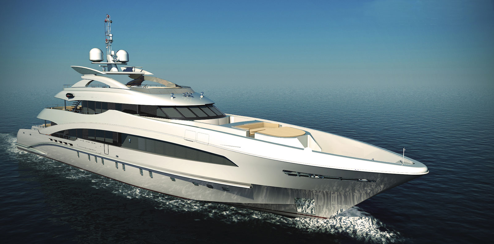 Ice angel hessen yachts 39 new 50 meter luxury yacht for Angel boats and motors