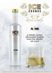 Ice Cognac by ABK6 Specially Designed to be Enjoyed on Ice