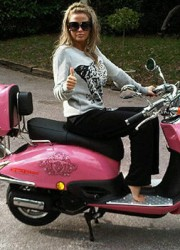 Katie Price's $164,000 Barbie Range Rover Vogue