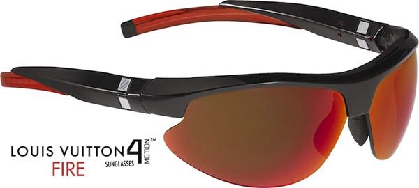 Louis Vuiton 4Motion Fire Sunglasses