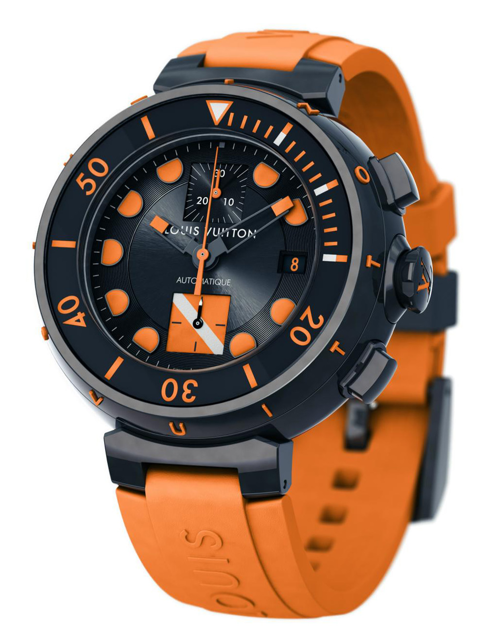 Louis Vuitton Tambour Diver Chronograph for Only Watch 2011