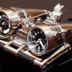 MB&F HM4 Thunderbolt Watch with Gold Panda for 2011 Only Watch Charity Auction