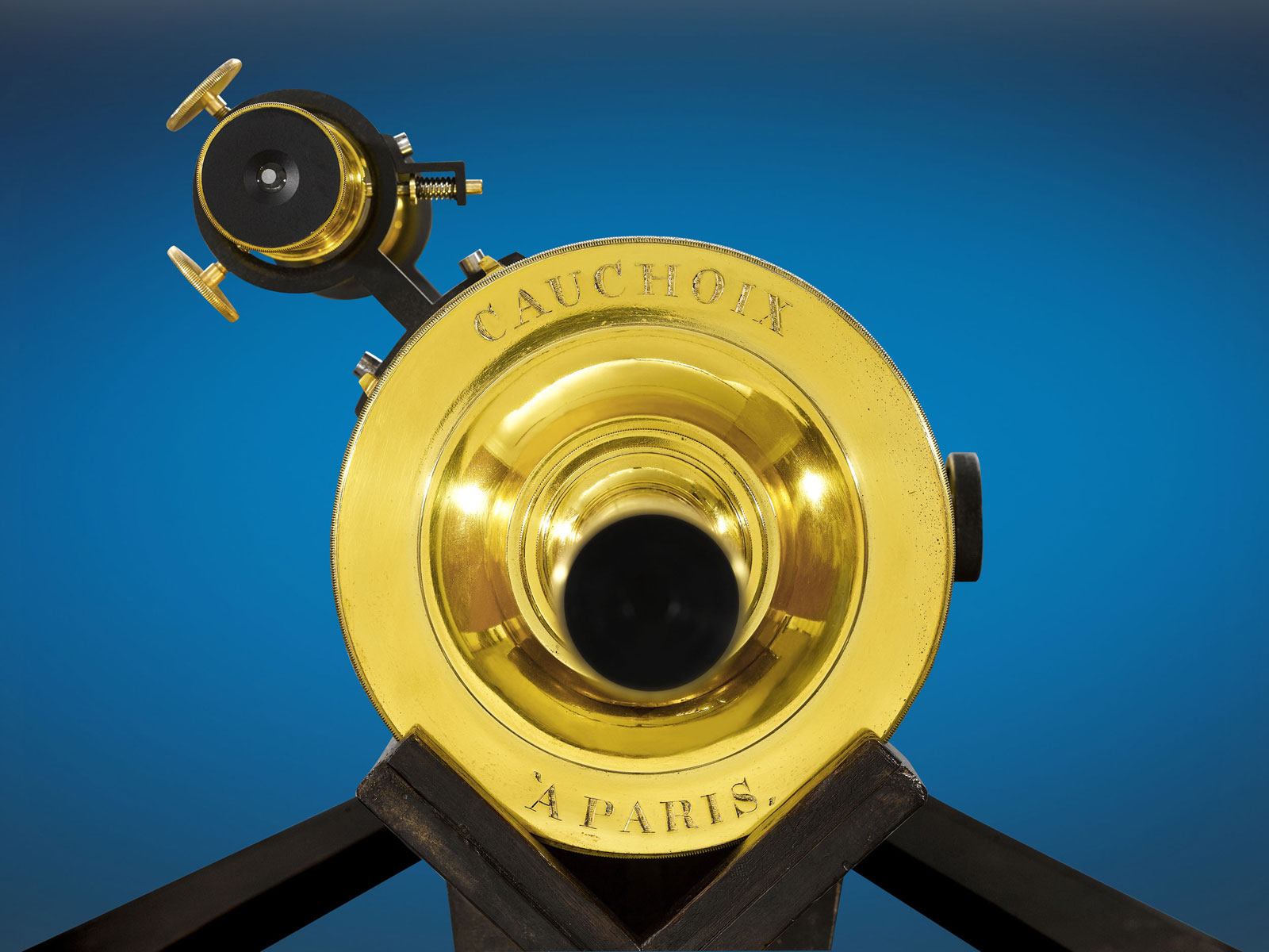 M.S. Rau Antiques Offers Monumental 19th Century French Telescope