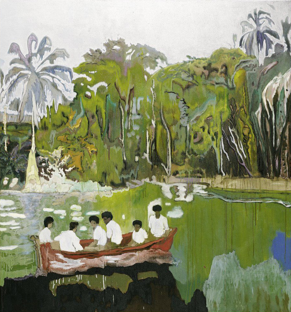 Peter Doig's Red Boat (Imaginary Boys)