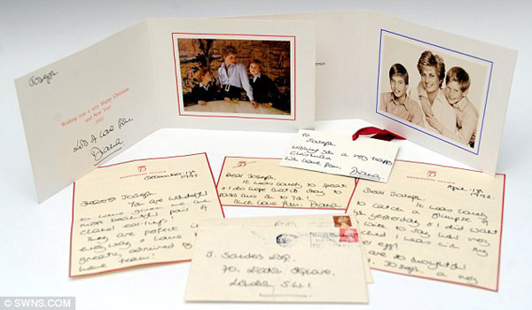 Princess Diana&#8217;s Unseen Personal Letters To Be Auctioned