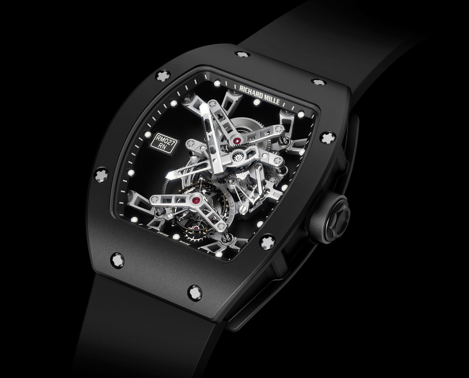 Rafael Nadal's Richard Mille RM027 Watch