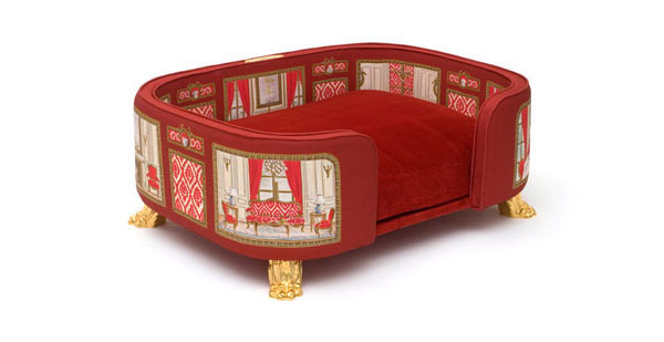 Royal bed (Le canapé Baron Haussmann)