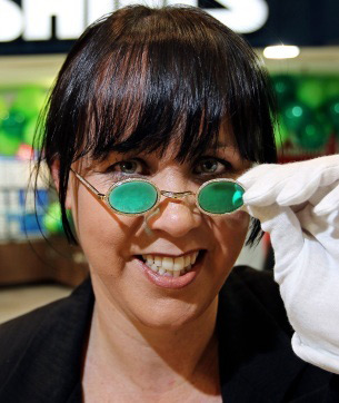 $200,000 Emerald Sunglasses For A Richer World View