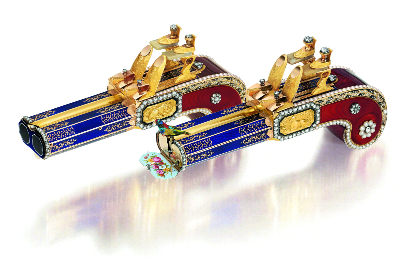 The Only Pair of Matching Singing Bird Pistols Sell for $5.8 Million