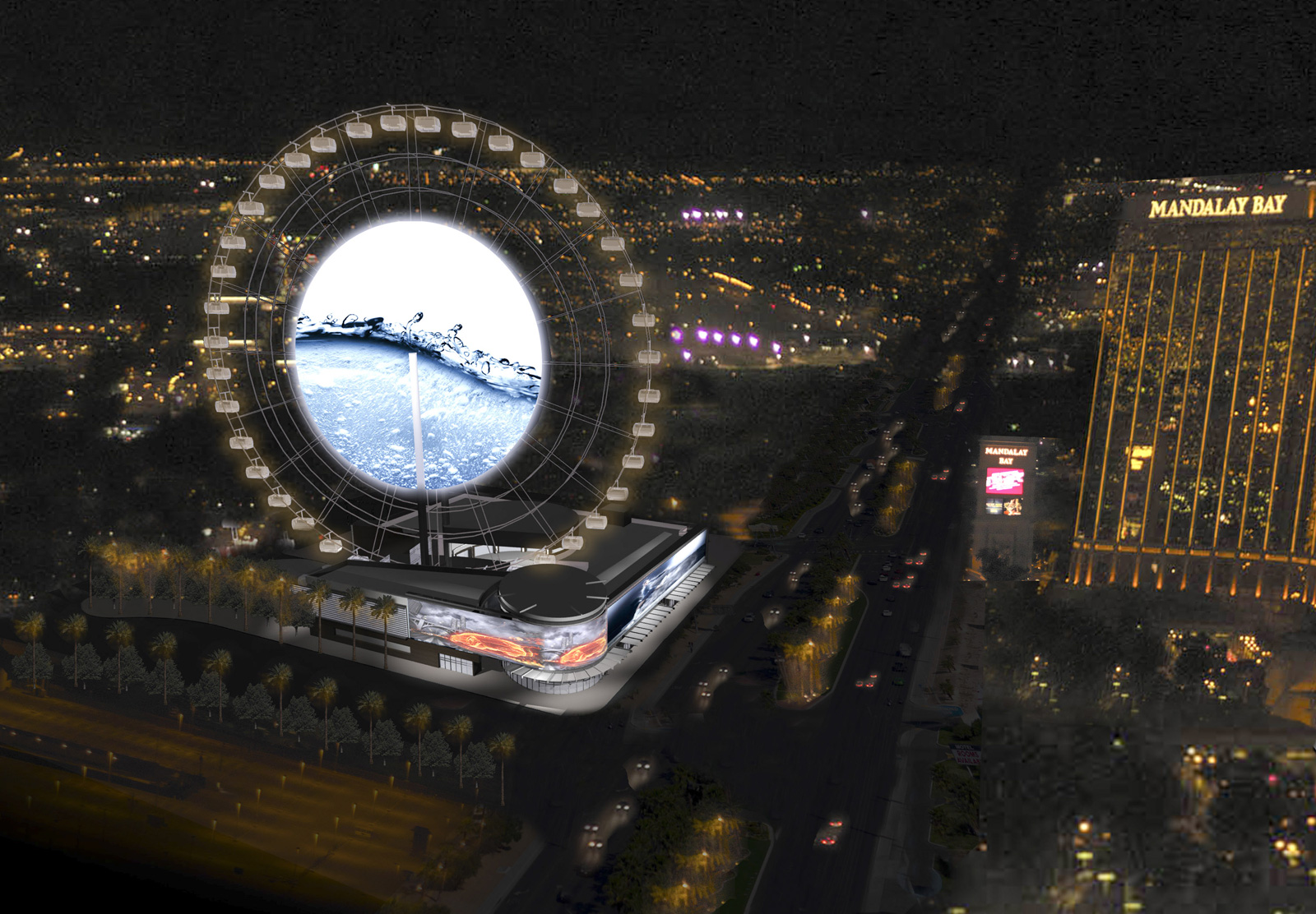 Las Vegas' $100m 'Super Wheel'